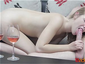 barely legal Videoz - Alexis Crystal - Morning coffee and orgy