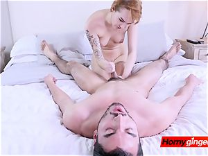 Emily Blacc gets her stepbrother to take naughty photos to sell online