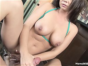 Next Door wife Gives Me blowage And tit banging