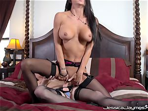 Jessica Jaymes and Allison Moore beaver plowing with wire on