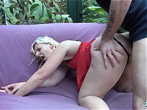 LaCochonne - blonde bitch Candys likes a fine buttfuck drill