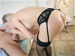 hotwife father and compeer s step daughter-in-law cumshot hard-core Romantic Family Dinner