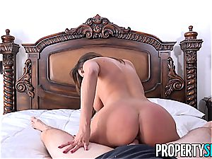 PropertySex French honey Anissa Kate nails Homeowner