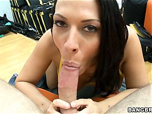 Rachel Starr providing an amazing fellatio