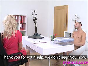 FemaleAgent Italian stud boinks hard and swift