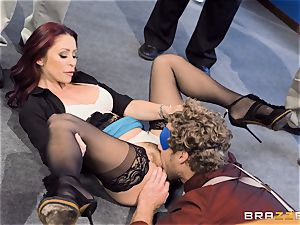 naughty office antics with Monique Alexander