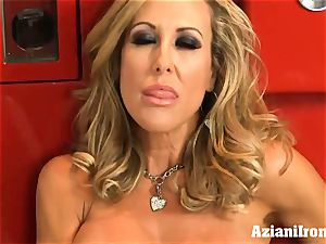 torn up Brandi enjoy peels off and strokes