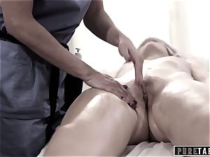 pure TABOO college doll Duped two fucking masseuse couple