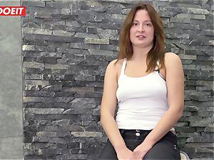 LETSDOEIT - Eva Gets fuckholes boned By big hard-on boy