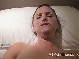 pov with expect Howell in Singapore completes with internal cumshot