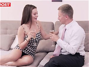 LETSDOEIT - Lana Rhoades humped rock hard At pornography Academie