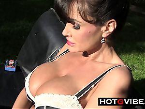 Lisa Ann fucktoys Her cunny