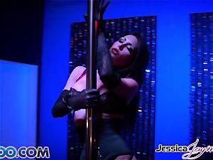 JessicaJaymes - Jessica takes two dicks like a champion