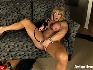 snatch pumping joy button fun with a fantastic heavy chicks