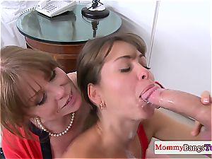 Riley got a messy stepmom