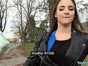 Public Agent Amirah Adara plumbs a stranger