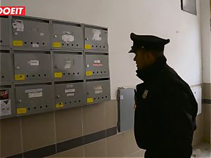 Immigration officer gets raw slit instead of the visa