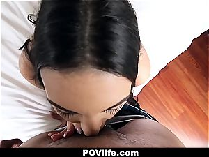 Rachael's high-speed pov pornography