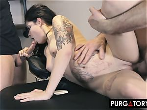 PURGATORY I let my wife tear up 2 dudes in front of me