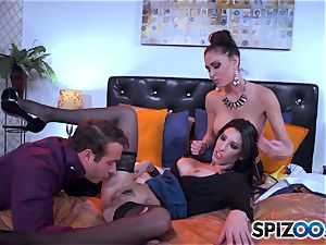 The husband of Jessica Jaymes brings home a treat from work