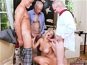 breasts encouragement Frannkie And The gang Tag team A Door To Door Saleswoman