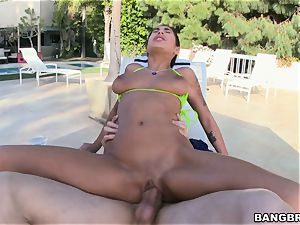 Stacy Jay getting her pussy spread