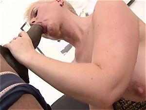 brief hair grannie takes hard coochie ravaging by bbc