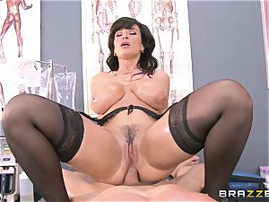 Lisa Ann all lubed up and analled