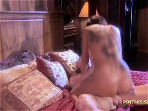 decorated honey Lily Paige is glided a marvelous length