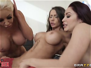 Monique Alexander and her girls drill together