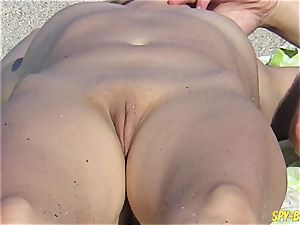 naked Beach voyeur unexperienced - Close-Up cunt cougars