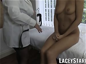 LACEYSTARR - sumptuous fuckbox inspected by physician GILF