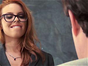 fresh educator Britney Amber screws for her job