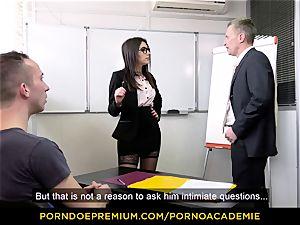 pornography ACADEMIE - educator Valentina Nappi MMF 3some