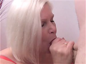 Mature beauty Lacey Starr point of view suck off
