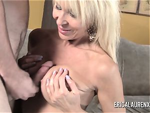 GFE molten blond cougar and youthfull man