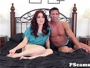 Livechat bombshell Jessica Ryan pussyfucked