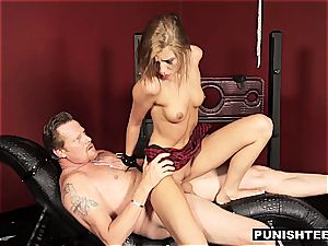youthfull nubile woman Molly luvs to be punished