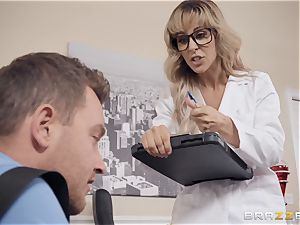 Cherie Deville enjoys frolicking physician