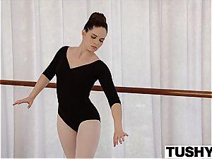 TUSHY youthful Ballerina examines ass fucking fuck-fest with teacher