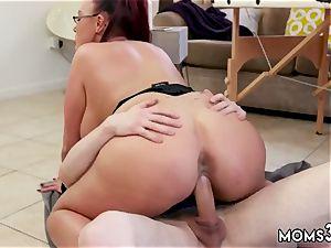 euro bj ginormous jug Step-Mom Gets a massage