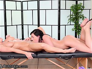 AllGirlMassage mummy Abigail Mac NEEDS super-hot nubile massage