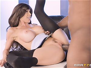Alexis Fawx romped by massive big black cock