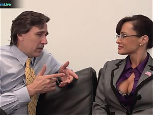 Lisa Ann gonzo bang with her boss