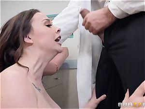 Chanel Preston takes a trip to the doctors