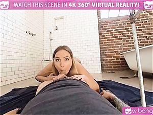 VR porno - Blair Getting nailed rigid by the Plumber