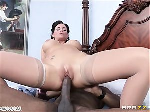 Phoenix Marie is ready to take a big dark-hued cock in her pussy