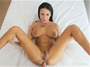 Milfy mother Anissa Kate fucked deep in her cootchie pie