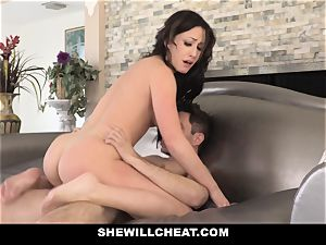 SheWillCheat hot wifey Cheats with spouses accomplice