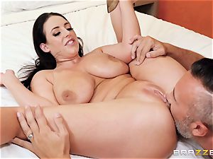 Angela milky beaten in her adorable lil' ass hole